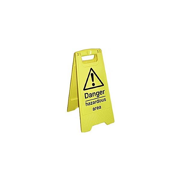 Danger Hazardous Area Floor Sign