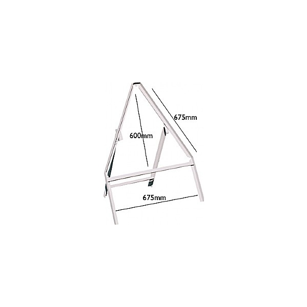 Triangular Stanchion
