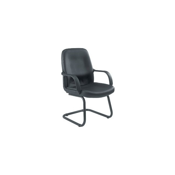 Canasta Leather Look Visitor Chair