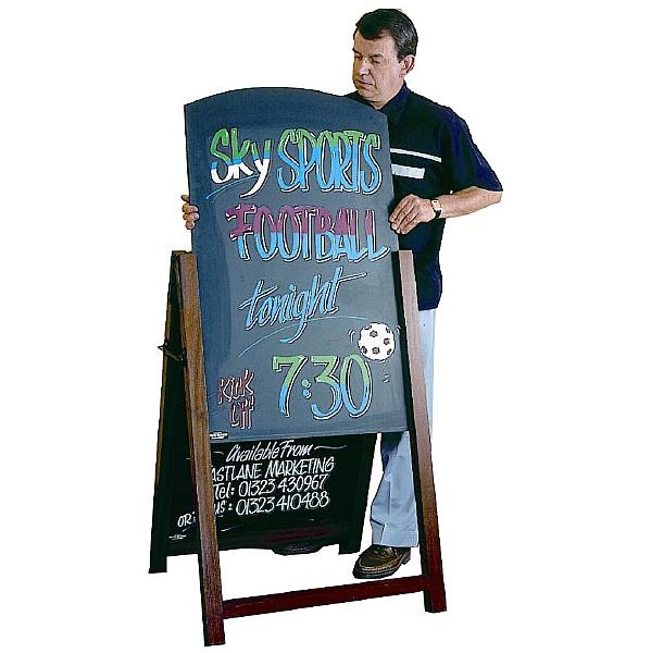 Reversible A Frame Chalkboards