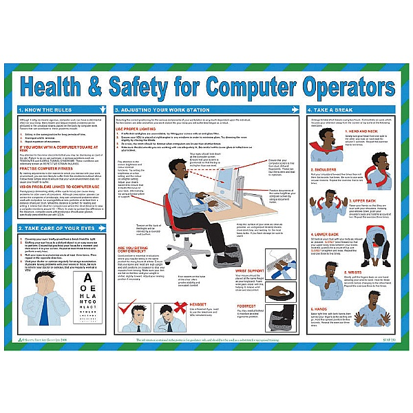 Health and Safety Computer Operators