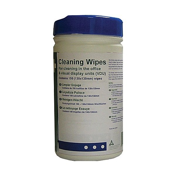 Office & VDU Cleaning Wipes