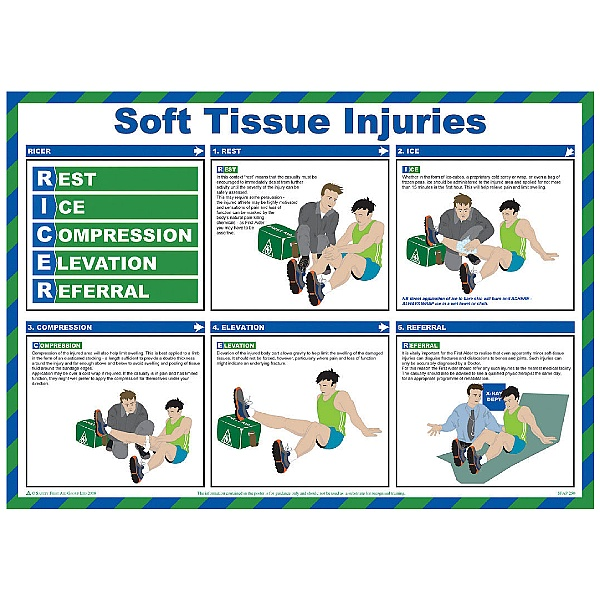 Ricer (Soft Tissue Injuries) Poster