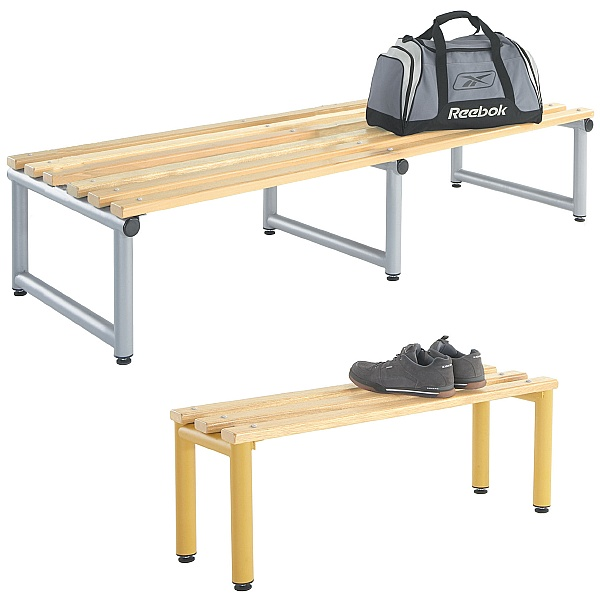 Free Standing Cloakroom Benches