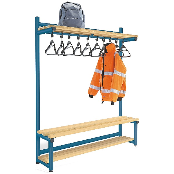 Hanging Cloakroom Hook Benches
