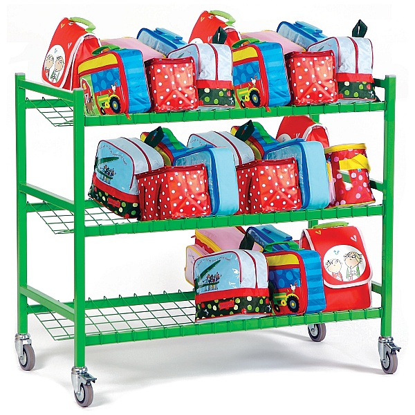 Large Lunch Box Trolley