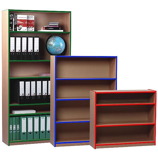 Coloured Edge Bookcases