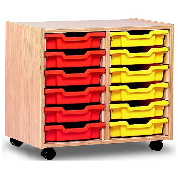 12 Tray Shallow Storage