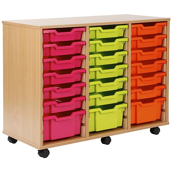 24 Tray Shallow Storage Brights