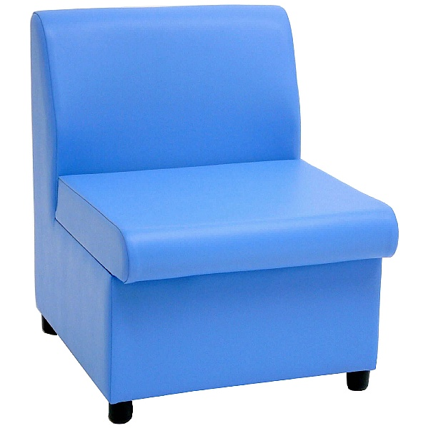 Tatton II Paintpot Vinyl Reception Chairs