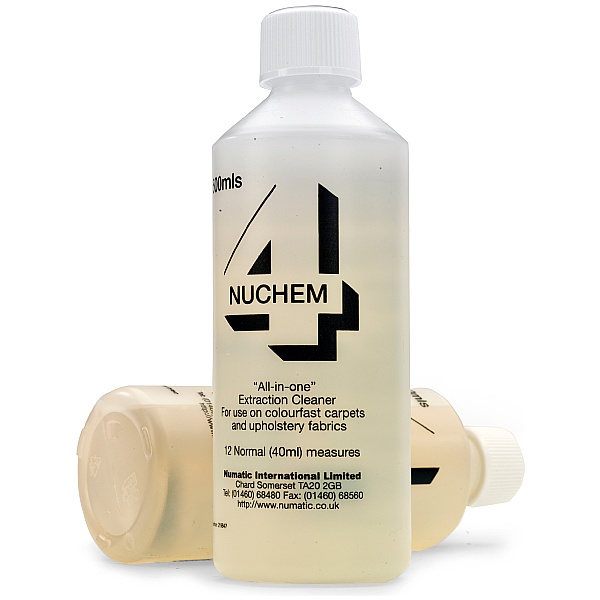 Numatic Nuchem Shampoo Carton