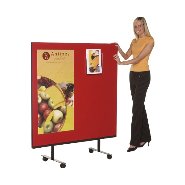 Mobile Velcro Friendly Office Screens