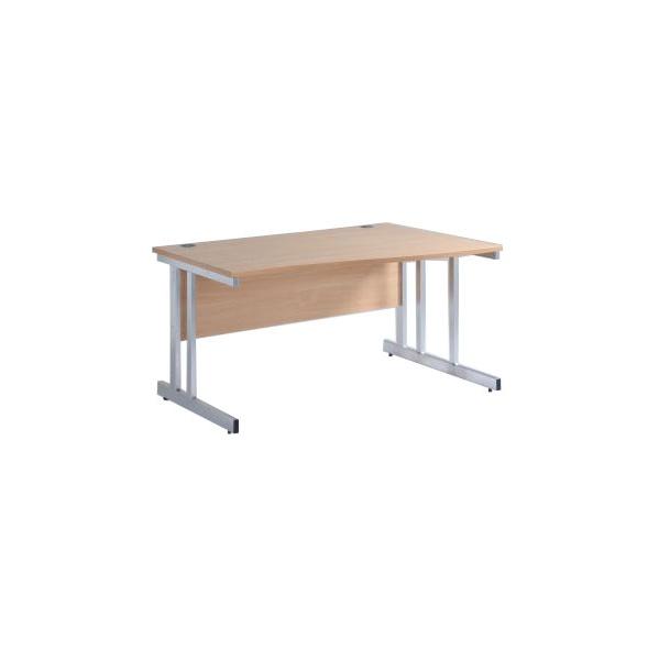 NEXT DAY Pulse Wave Cantilever Desks