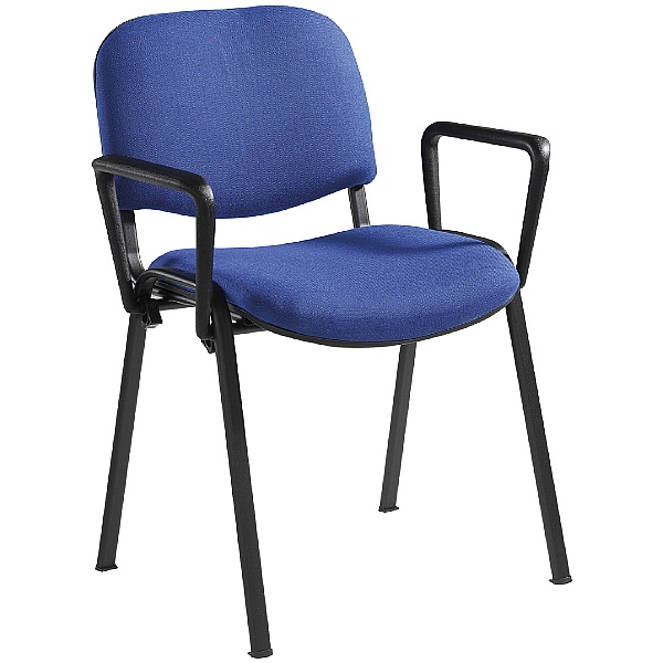 Swift Black Frame Conference Armchair