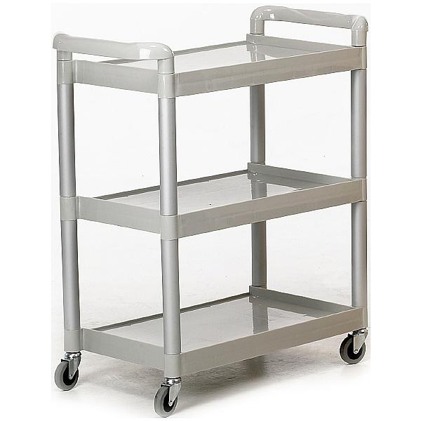 3 Shelf Trolley Grey