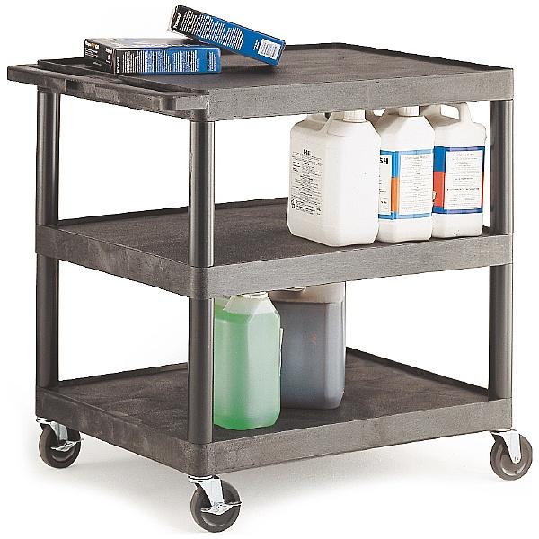 3 Shelf Super Strong Service Trolley