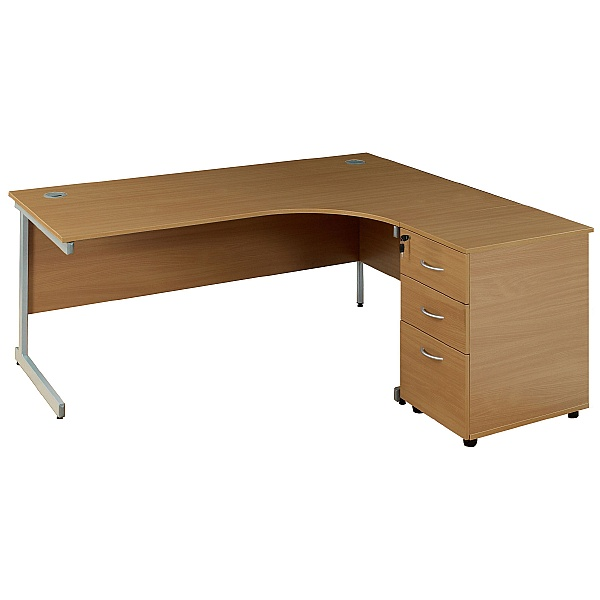 NEXT DAY Solar Cantilever Leg Combi Desks