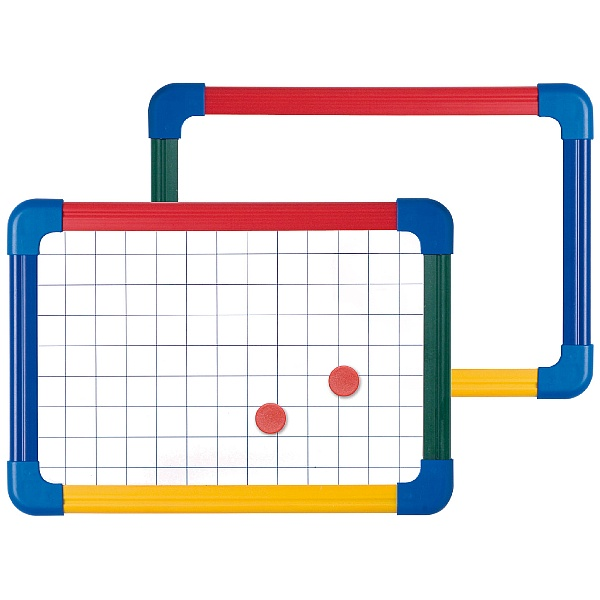 Double Sided Student Whiteboard Plain/Gridded (Pac
