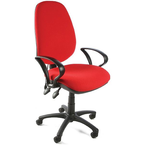 Custom Lumbar Pump Operator Chair