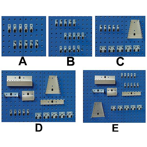 Bott Cubio Framework Benches Panel Hook Kits