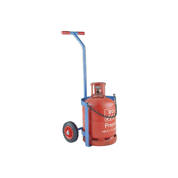 Short Propane and Calor Cylinder Truck