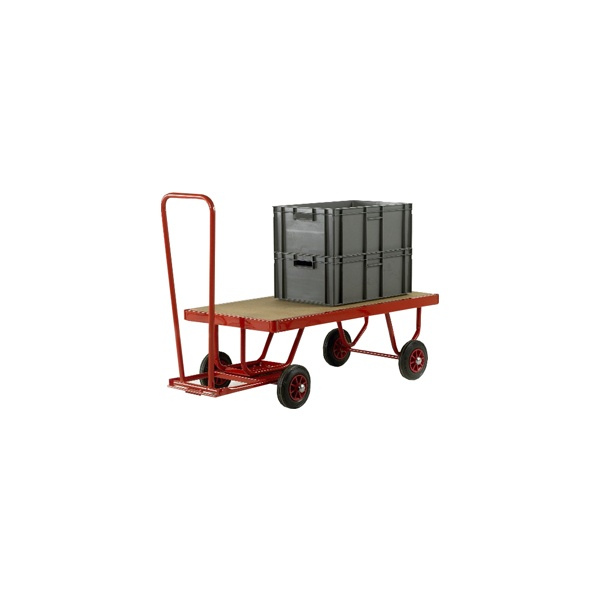 1200L x 600W Trader Truck Hand Turntable