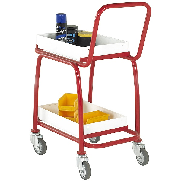 2 Tier Tray Trolley