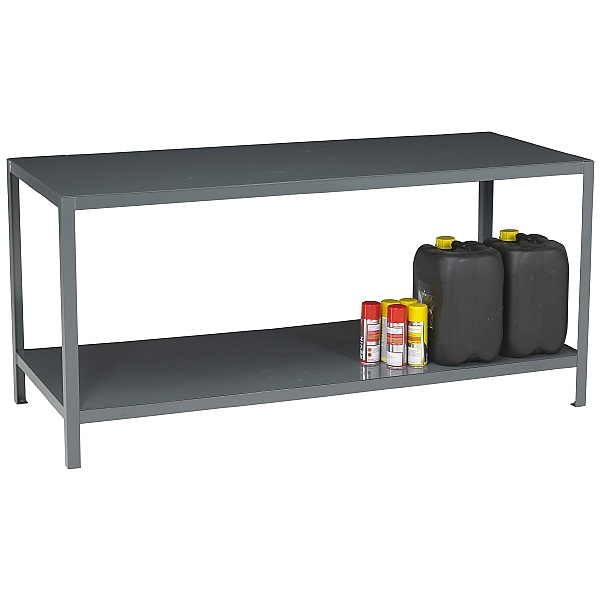 Redditek Heavy Duty Engineering Workbench with Shelf