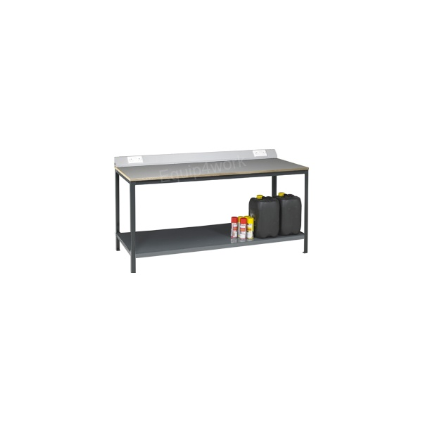 Redditek Heavy Duty Electrical Engineering Workbench with Shelf