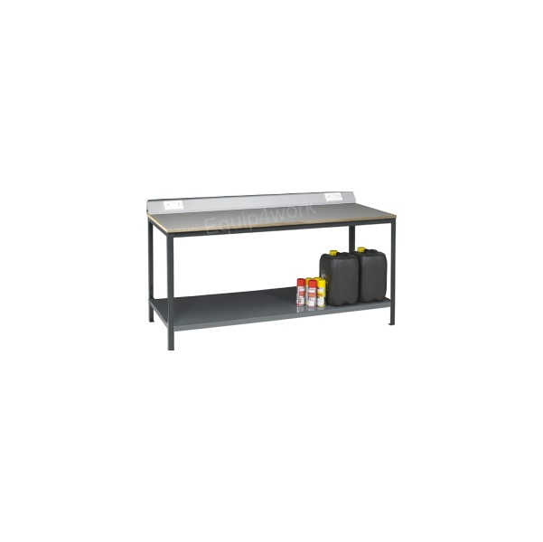 Redditek Heavy Duty Electrical Engineering Workbench with Shelf and Lip
