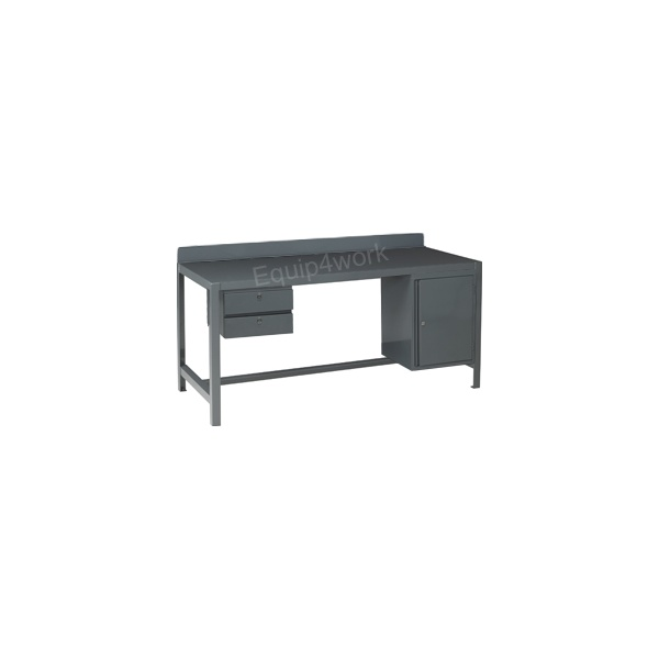 Redditek Extra Heavy Duty Engineering Workbench with Rear Lip