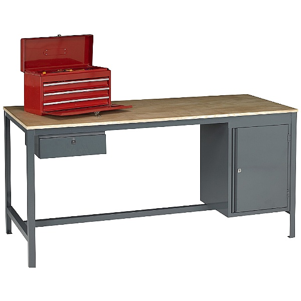 Redditek E7 Extra Heavy Duty Engineering Workbench Bundle Deal