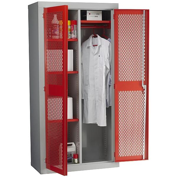 Fully Featured Redditek Mesh Door Cabinet