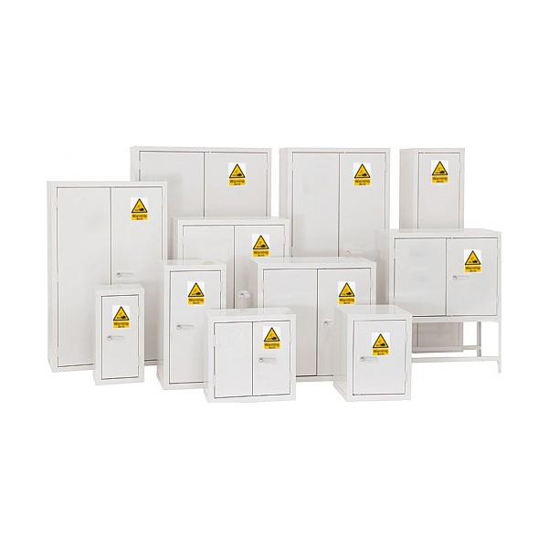 Redditek Acid White Hazardous Material Cabinet