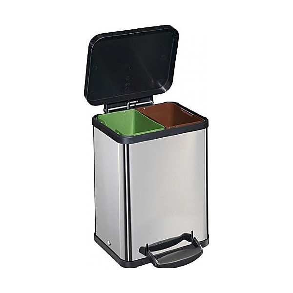 Hailo Trento OKO 2 x 11 Litre Waste Separator