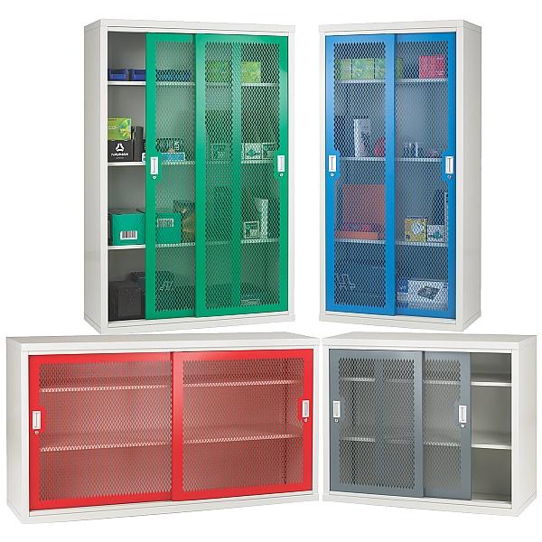 Sliding Mesh Door Cupboards - 84 Series