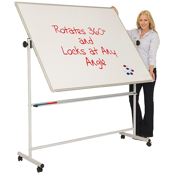 Ultralon Mobile Magnetic Swivel Whiteboards