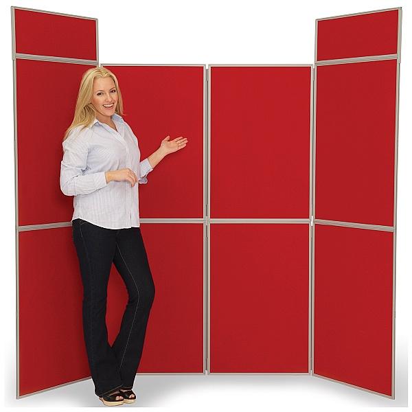 8 Panel Fold-Up Display Screen