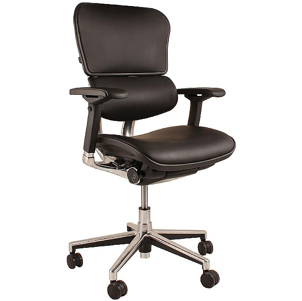 Ergohuman Leather Office Chairs (Without Headrest)