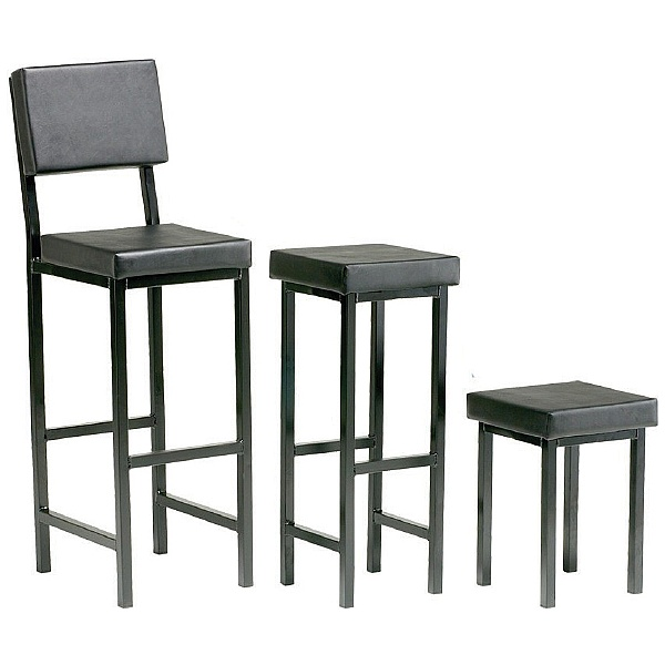 Scholar Upholstered Square Stools