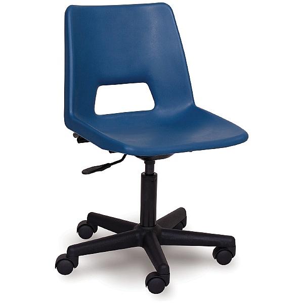 Scholar Mobile Polypropylene Chair