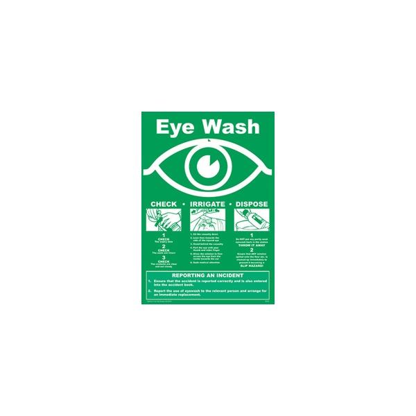 Emergency Eye Care Sign