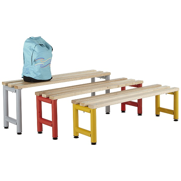 Freestanding Education Cloakroom Benches With Acti