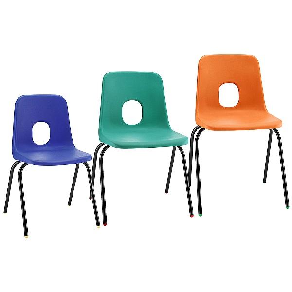 E-Series Polypropylene Classroom Chairs