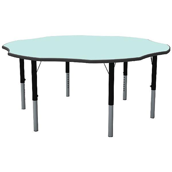 Height Adjustable Flower Pastel Theme Table