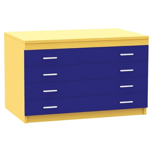 A1 Paper Plan Storage Chests
