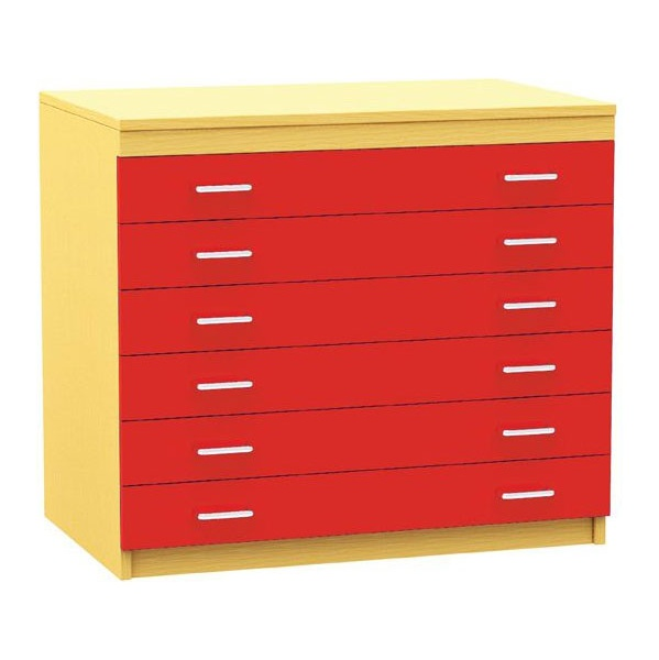 6 Drawer A1 Plan Storage Chest