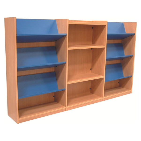 Nexus Library Combination Display Bookcases