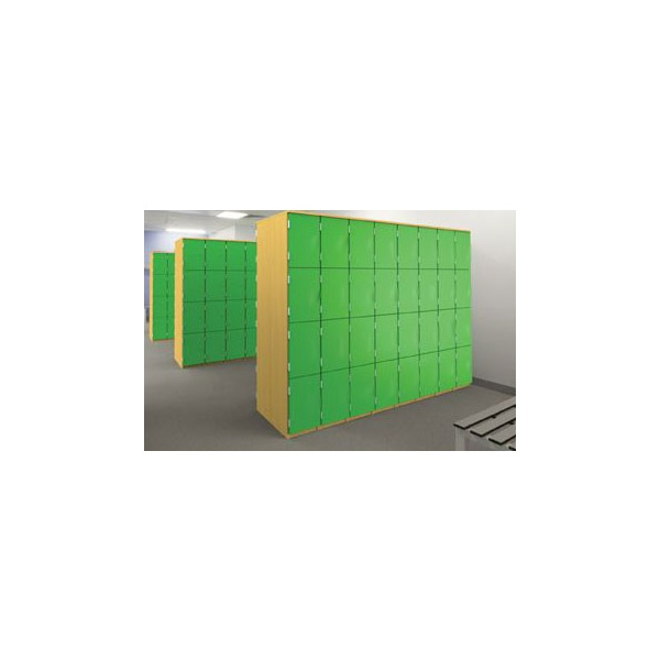 Wooden Cloakroom Lockers