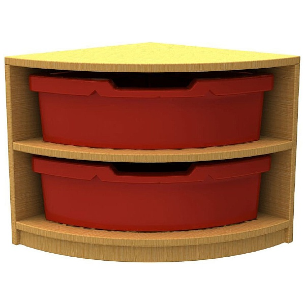 Curve Quarter Storage & Seating